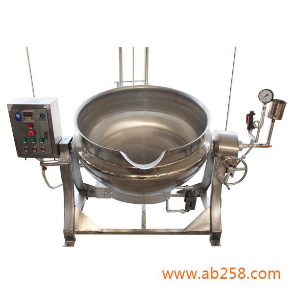 新型蒸汽夹式层锅