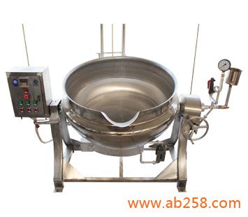 无锅炉蒸汽式夹层锅